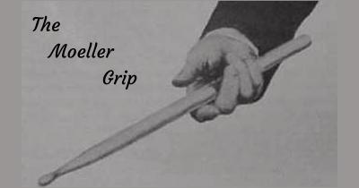 impugnatura delle bacchette nel metodo moeller